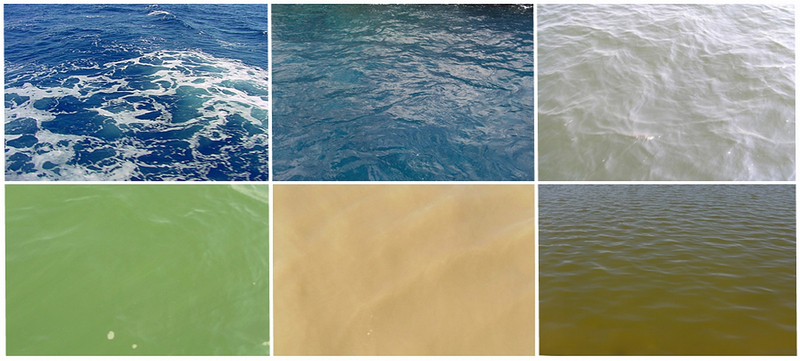 Colour of natural waters